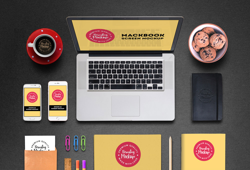 Free Branding Mockup PSD