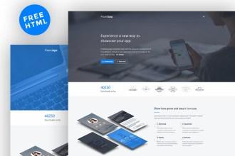 Free HTML Landing Page