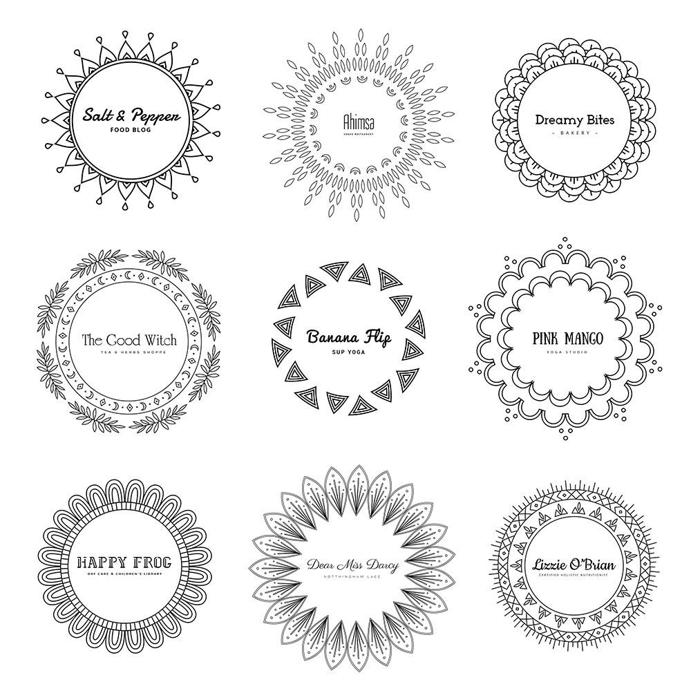 Mandala Free Logos