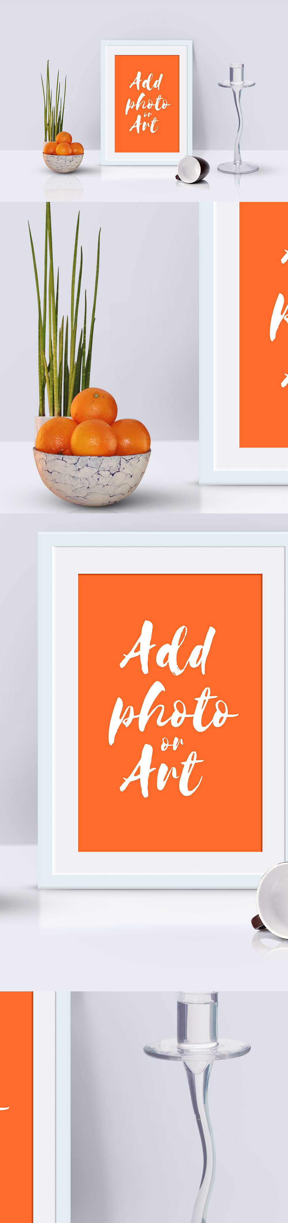 Photo Frame-Scene Mockup PSD
