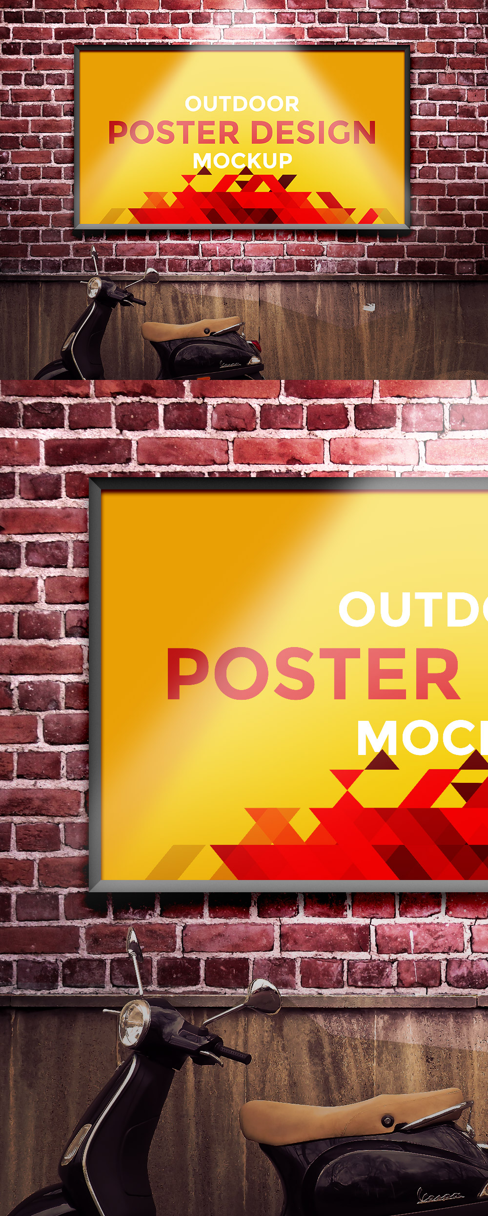Outdoor Poster Design Mockup