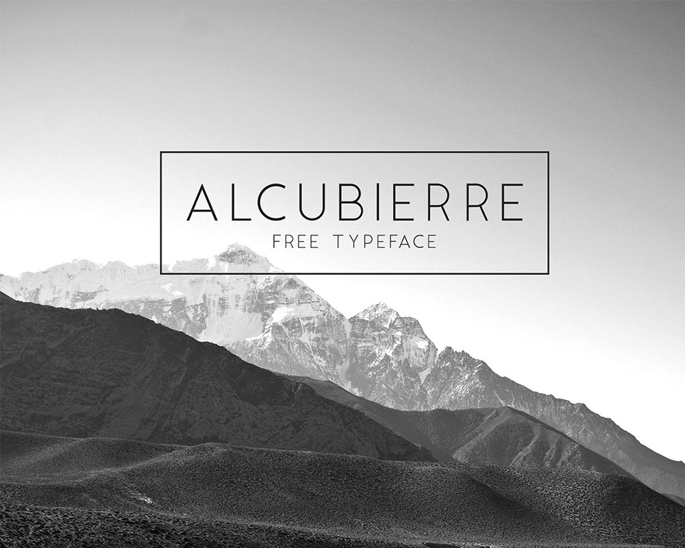 34 Cool And Free Fonts For Designers - GraphicsFuel
