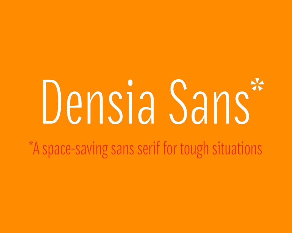 Densia Sans Typeface