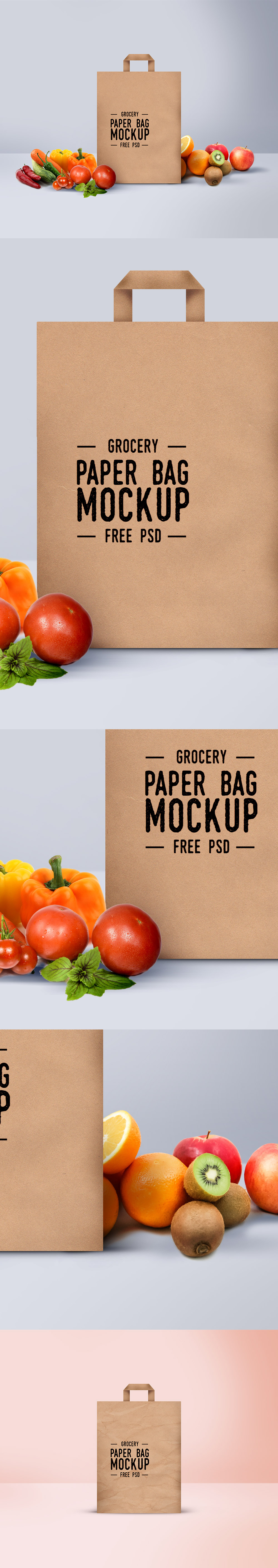 Shopping Paper Bag Mockup