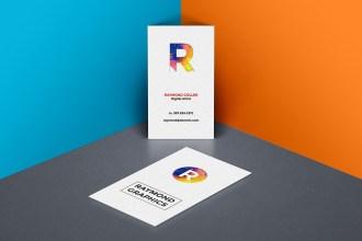Business Card Mockup PSD Template