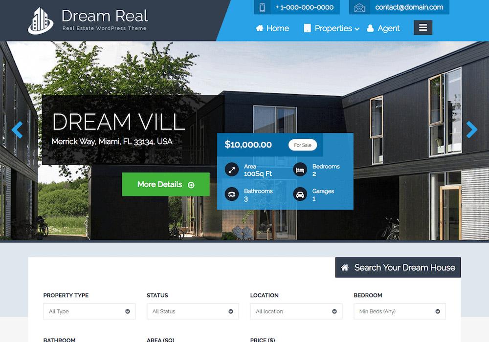 DreamReal WordPress Theme