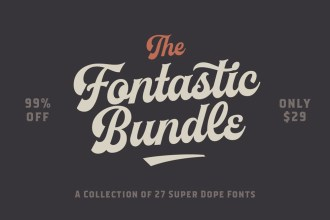 Fontastic Fonts Bundle