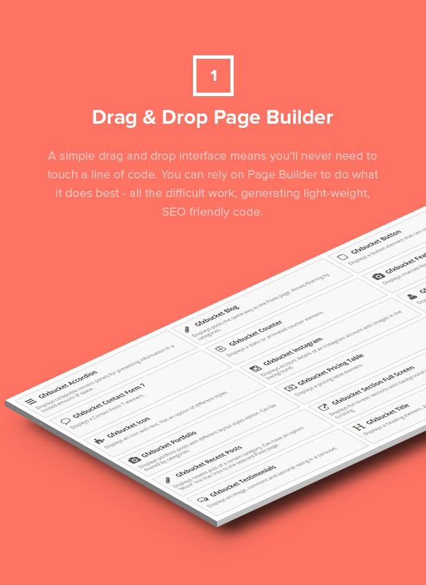 Dropout WP Theme Drag & Drop Builder