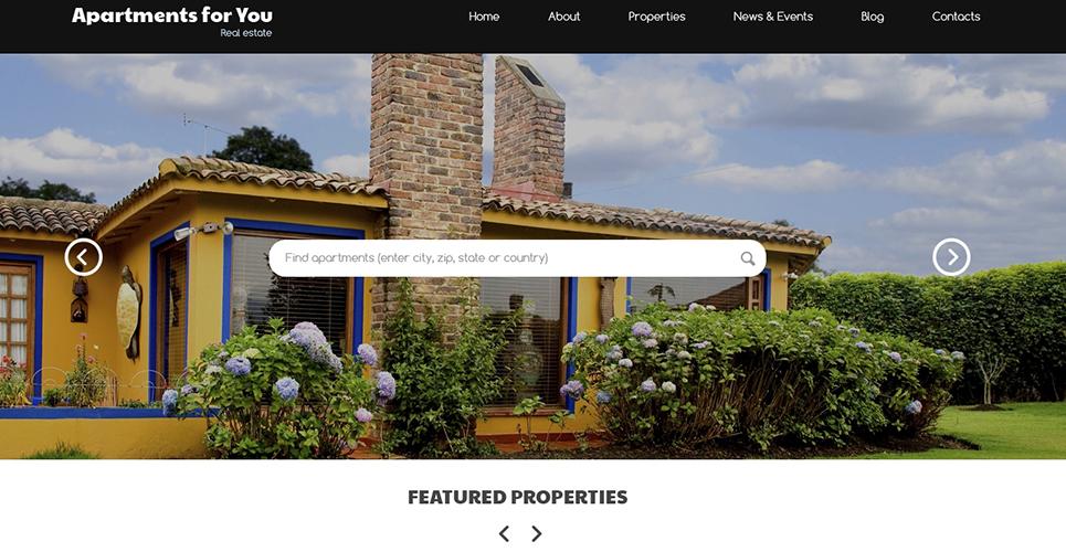Rent Buy Property WordPress Theme