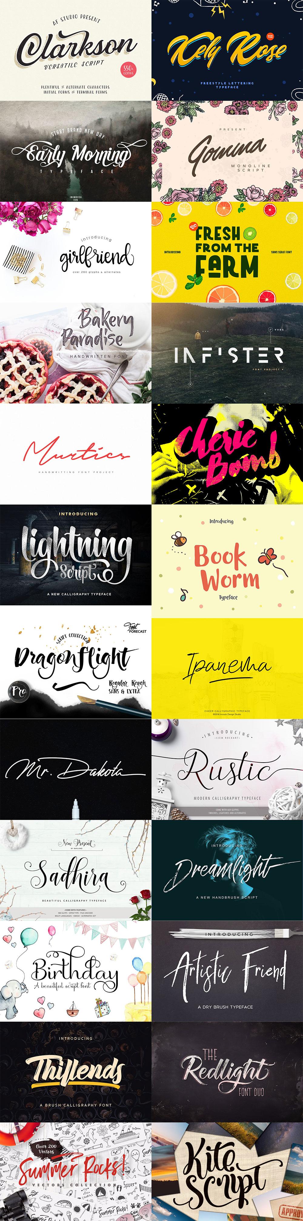 October Fonts & Graphics Bundle