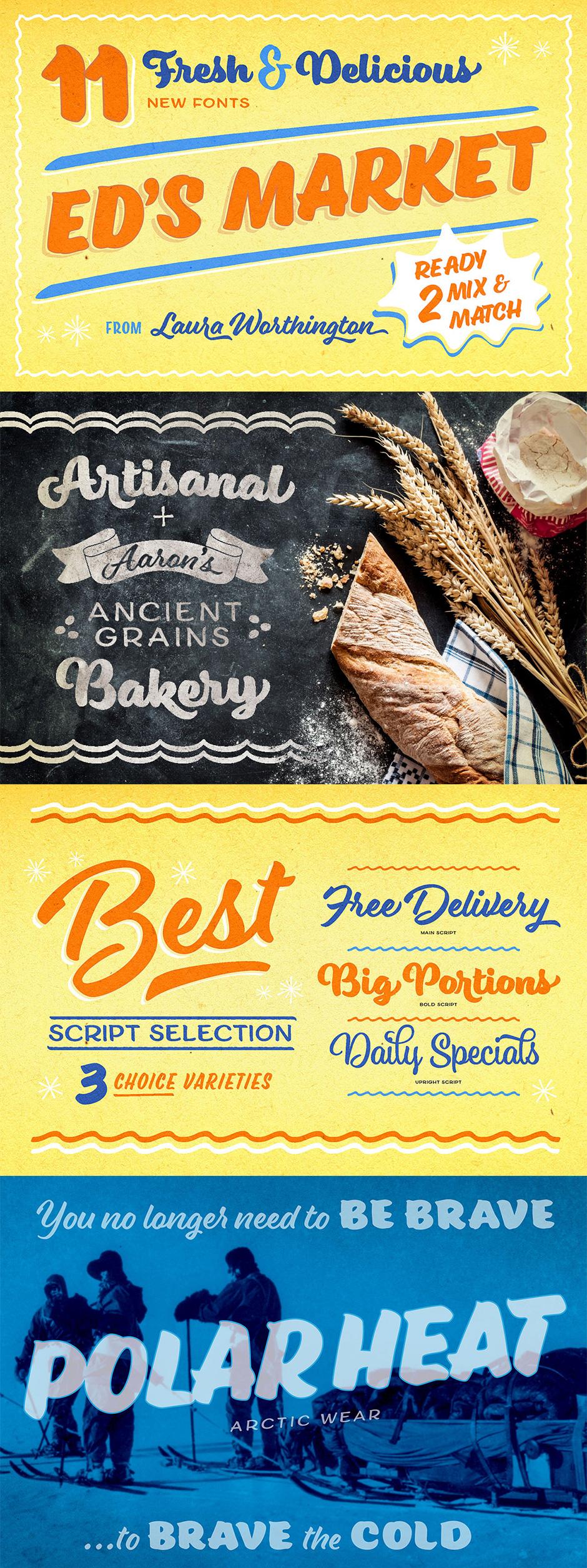 Definitive Fonts Bundle Eds Market