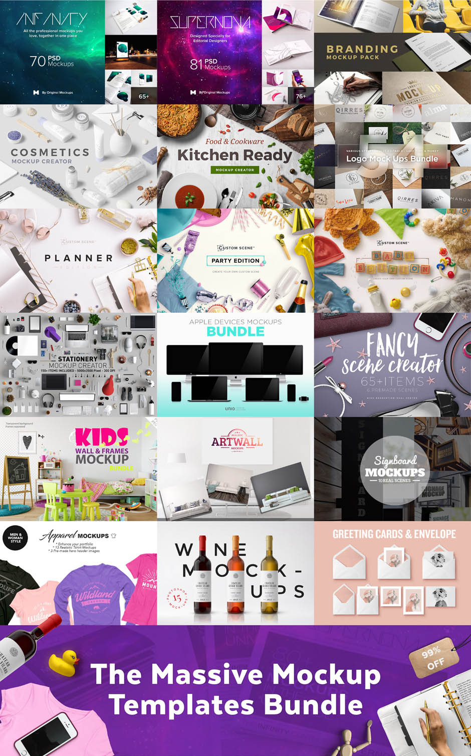 Massive Mockups Bundle