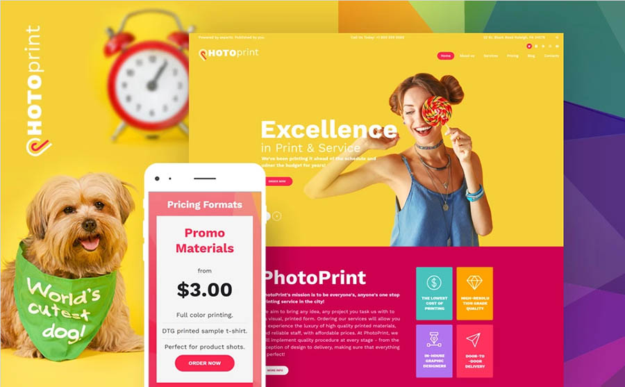Wordpress Print Shop