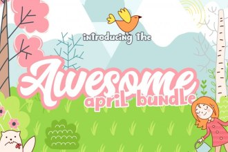 Awesome April Design Bundle