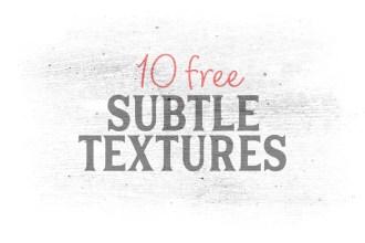 Free Subtle Textures