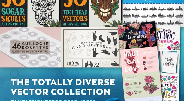 Get The Totally Diverse Vectors Collection For Just $29