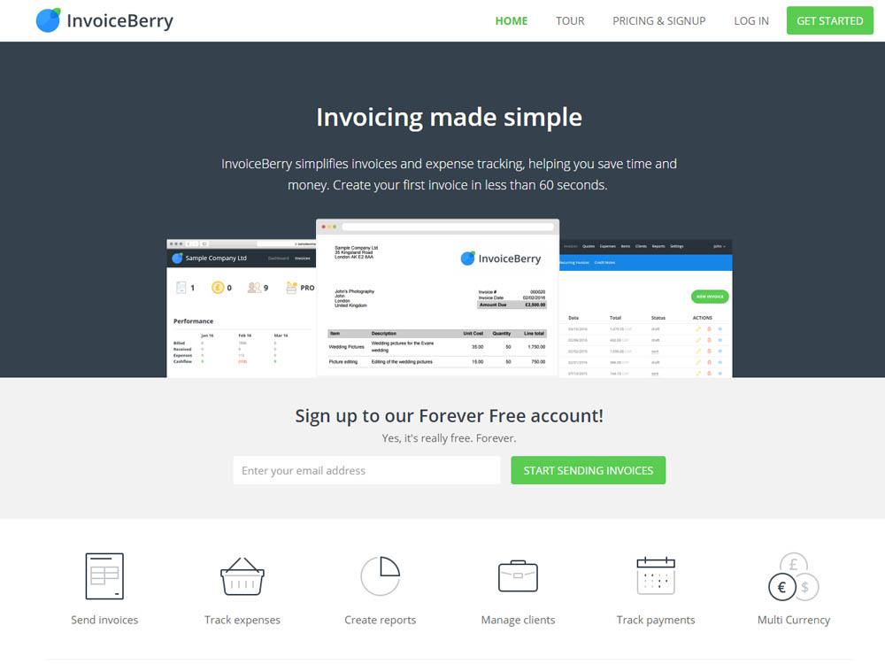 Invoice Berry