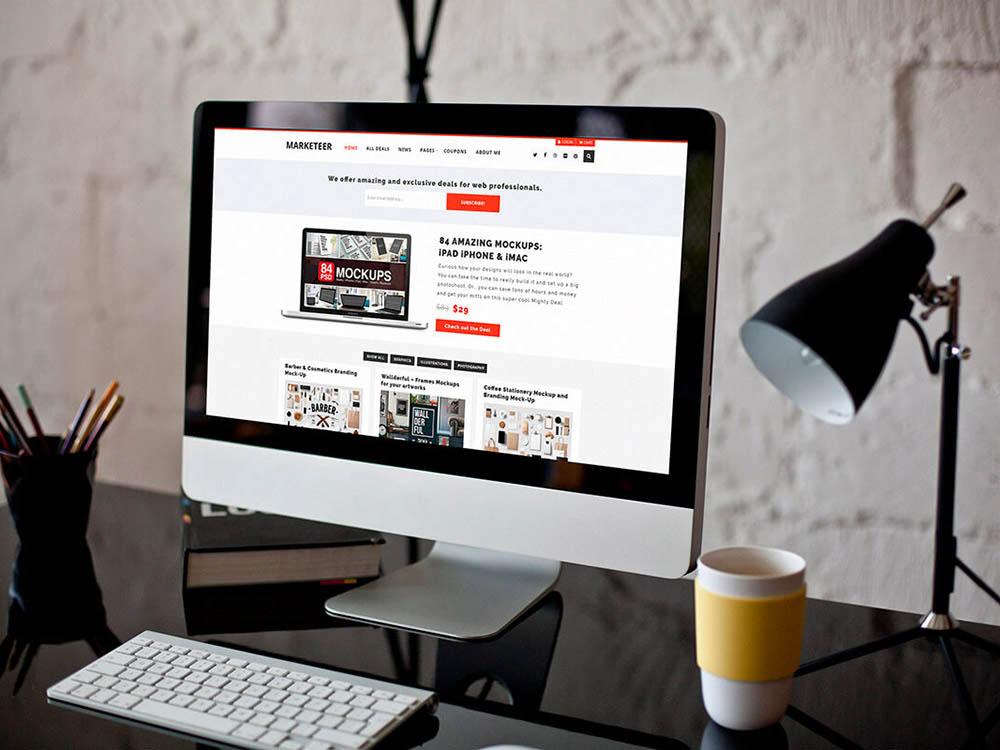 Marketer WordPress Theme