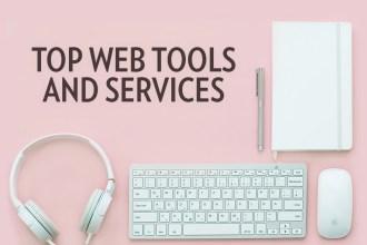 Top Web Tools & Services - 2017