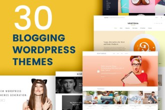 Meet the Selection of 30 Blogging Themes, Built on WordPress