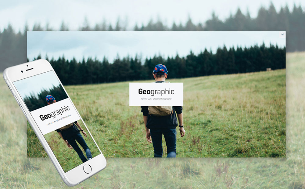 GeoPhoto - Portfolio Responsive WordPress Theme