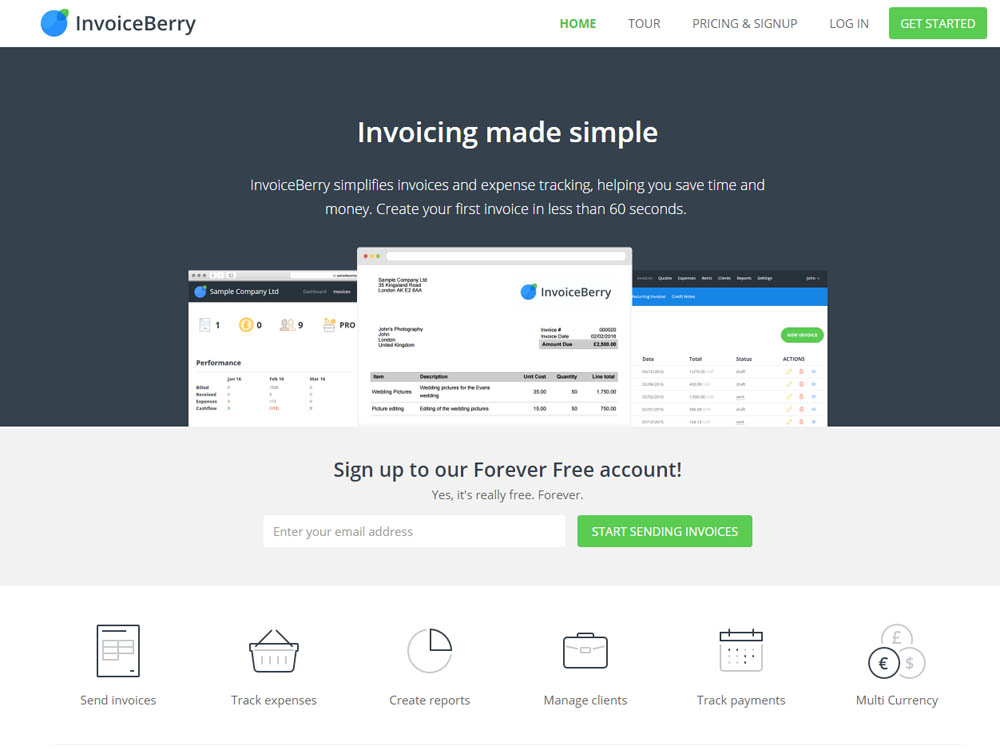 InoviceBerry