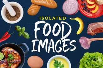 Free Isolated Food Images PSD