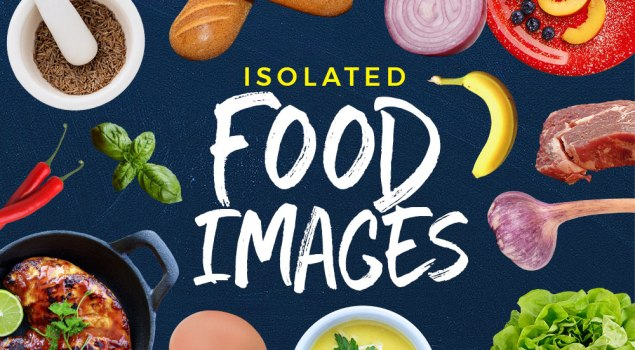 30 Isolated Food Images