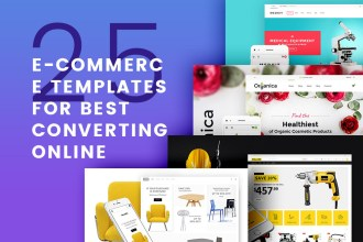 25 Ecommerce Templates For Online Shop