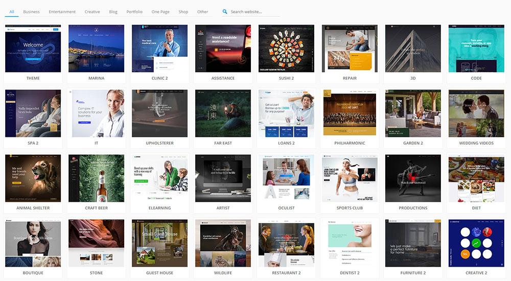 Be Theme Pre Built Websites