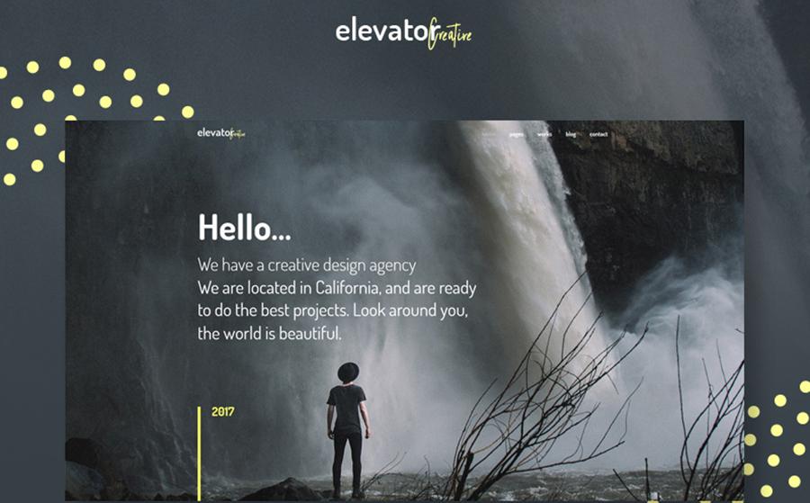 Elevator - Creative Corporate Portfolio WordPress Theme