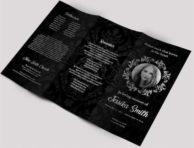 Free Funeral Tri-fold Brochure