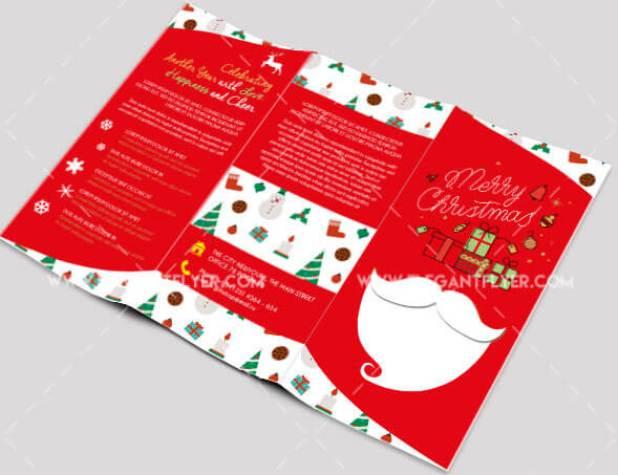 New Year – Free Tri-fold PSD Brochure