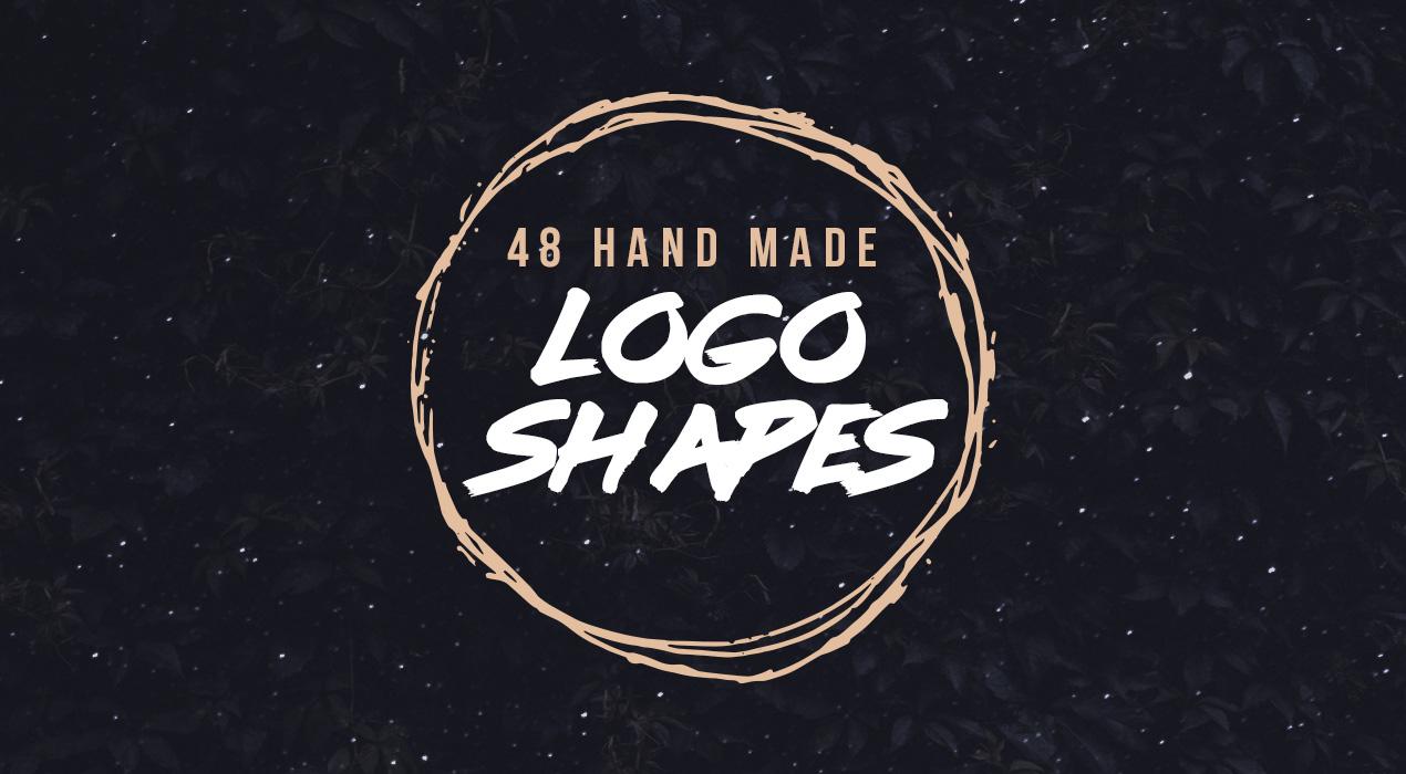 Grunge Logo Shapes