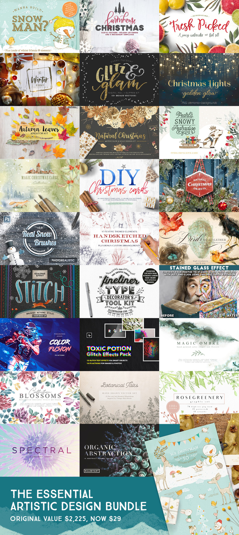Essential Artistic Design Bundle