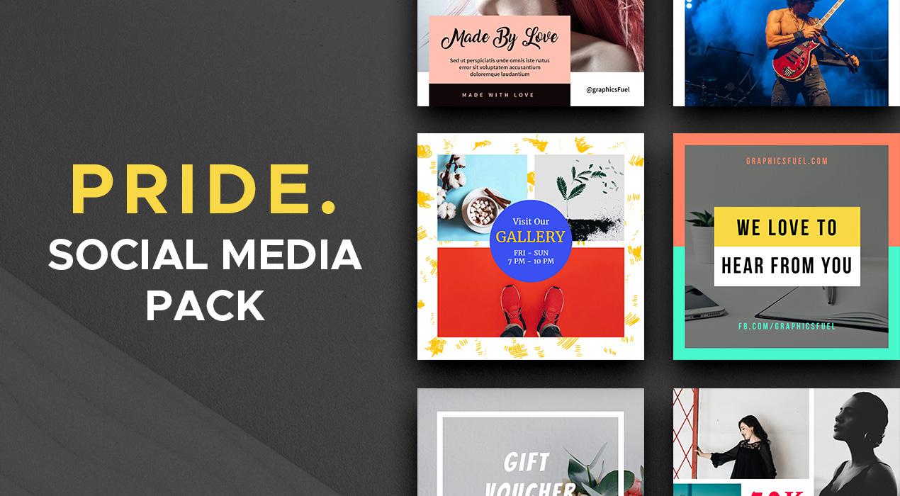 Pride Social Media Pack