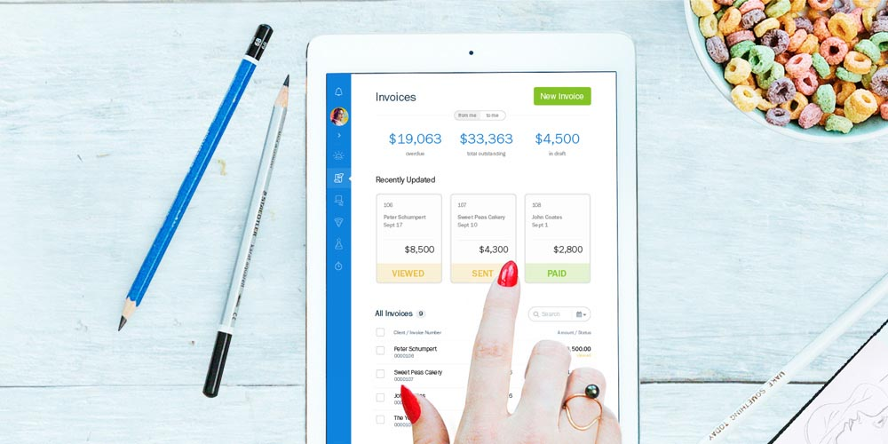 Freshbook Features