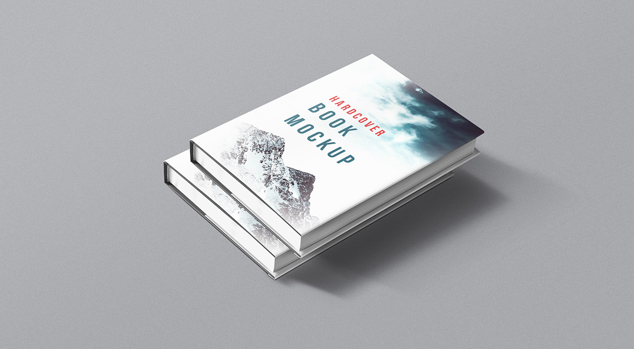 Hardcover Book Psd Mockup Graphicsfuel