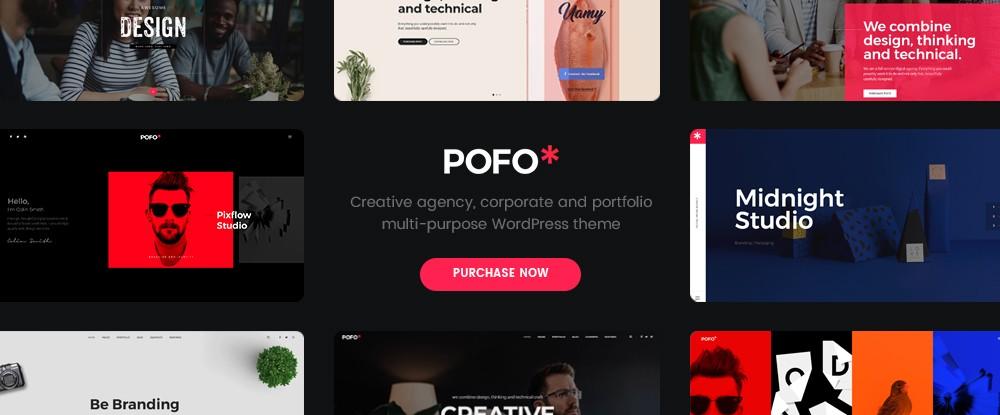 Pofo - Creative Portfolio & Blog WP Theme