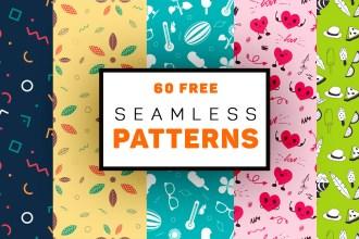60 Free Seamless Patterns
