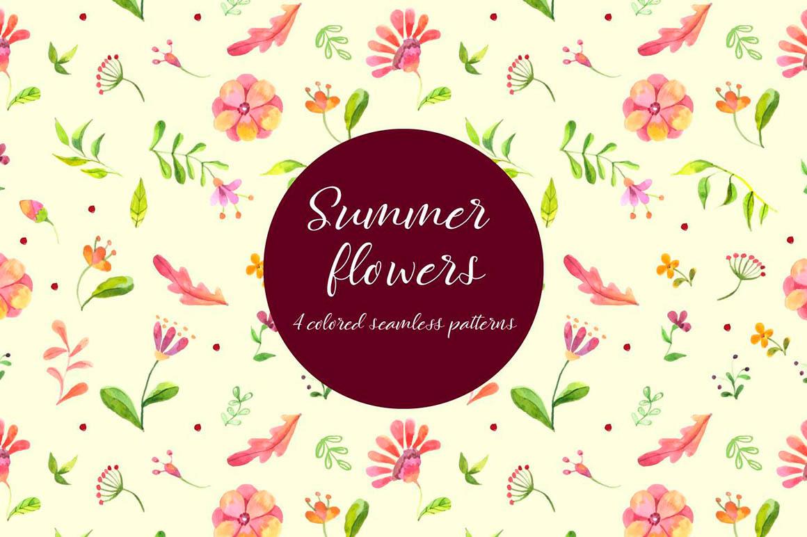 Summer Flowers Free Pattern