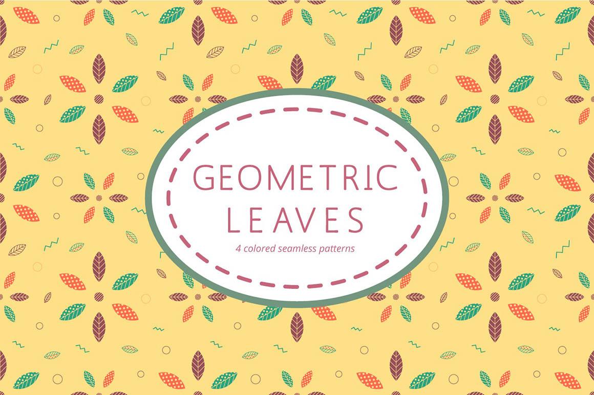 Geometric Leaves Pattern