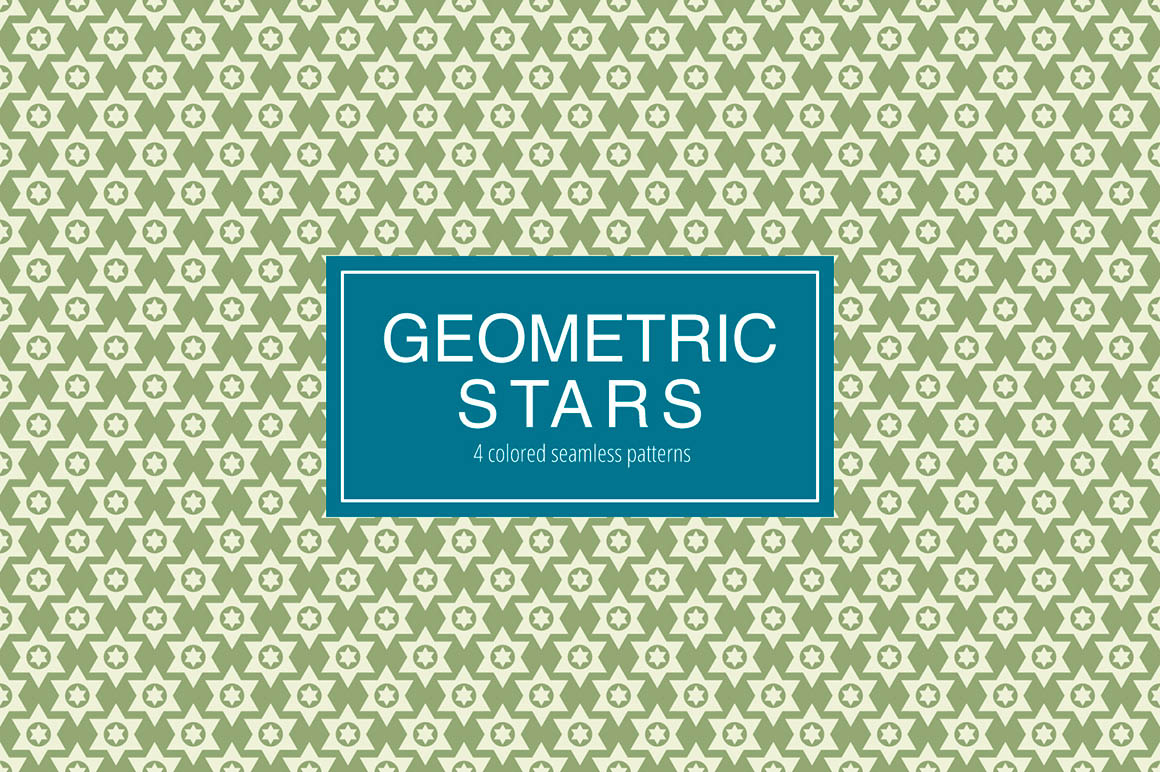 Geometric Stars Pattern