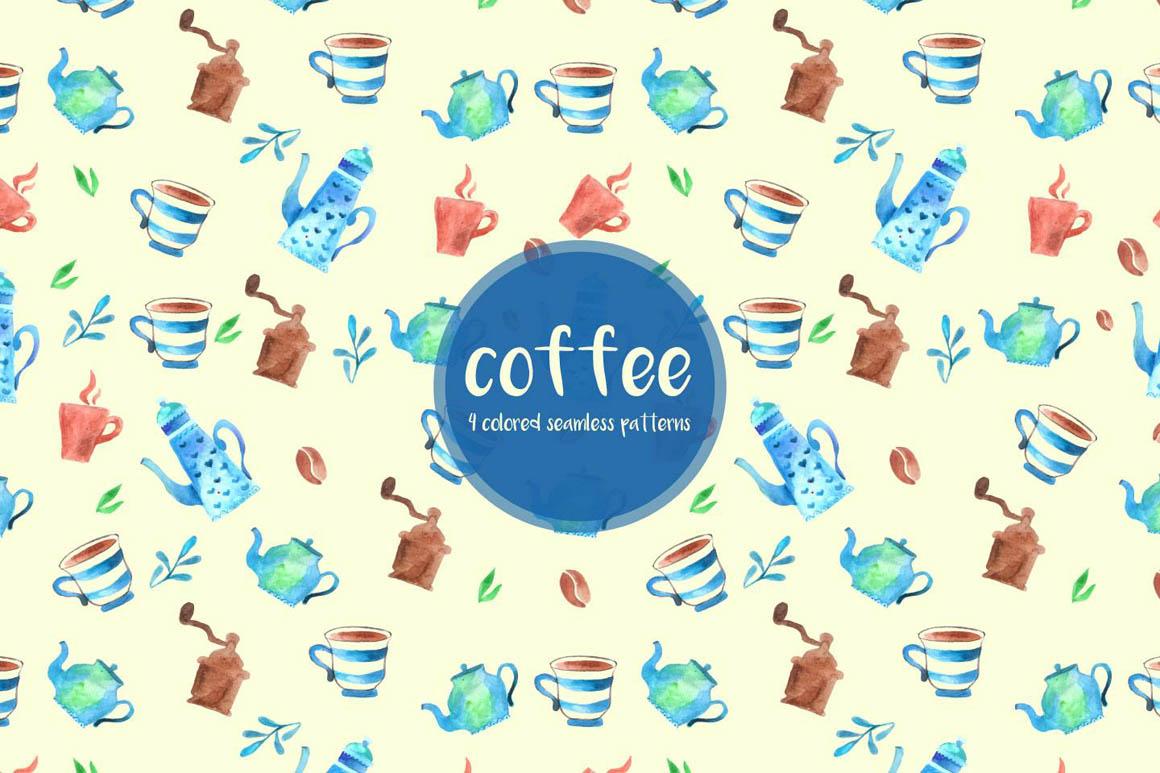 Coffee Vector Pattern