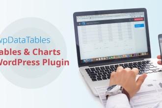 wpDataTables Wordpress Plugin