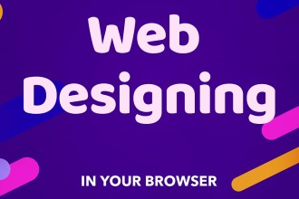 Web Designing In Browser