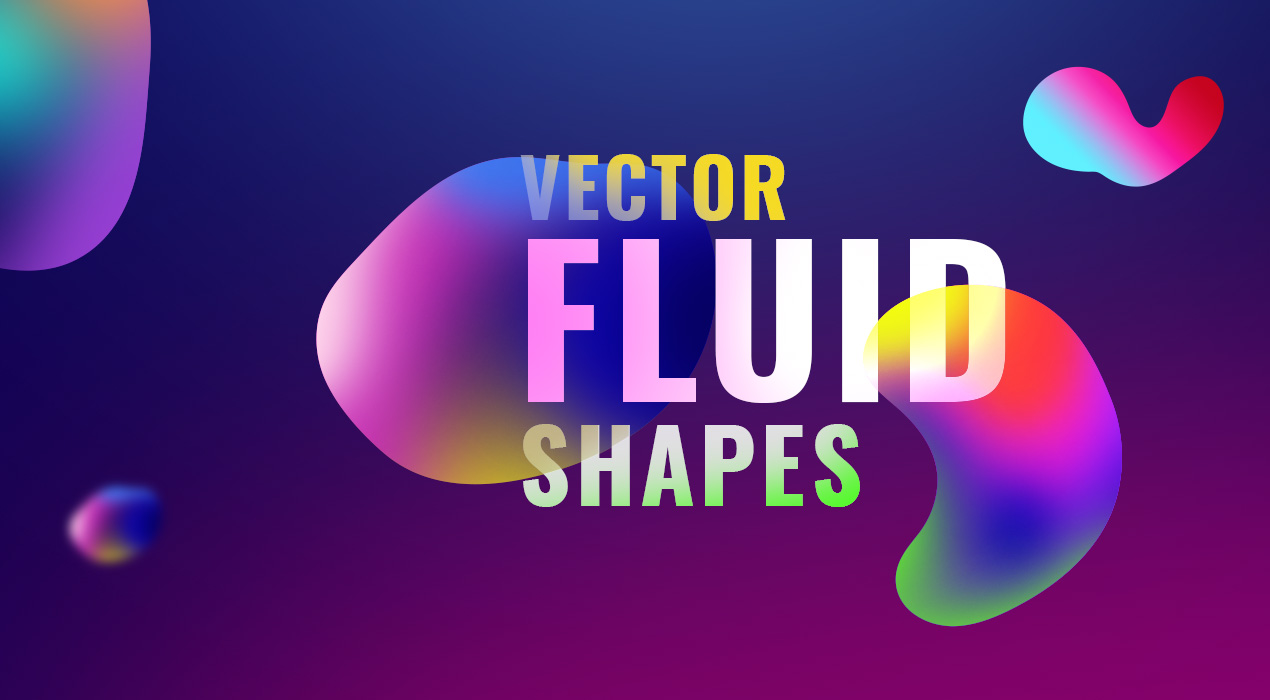 Vector Fluid Shapes