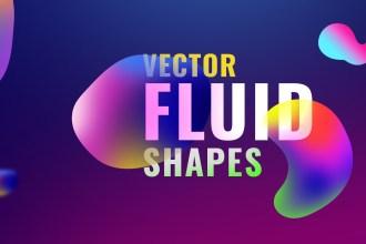 Vector Fluid Shapes