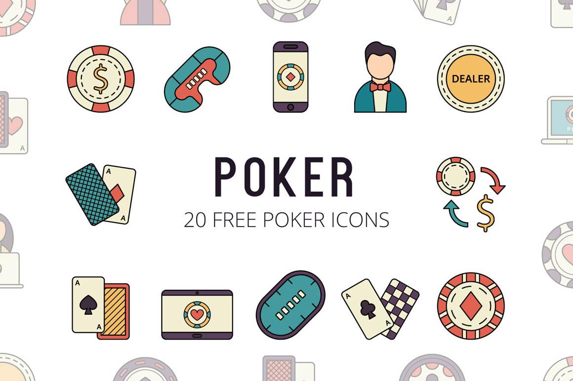 Poker Vector Free Icon Set