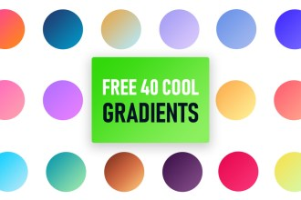 40 Free Gradients For Photoshop